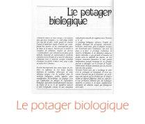 potager biologique