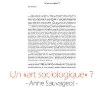 art_sociologique