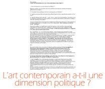 art_politique