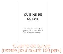 cuisine de survie